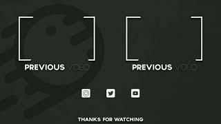 Top 10 free outro templates 2021 .. || Best free outro template || Youtube end screen outro template