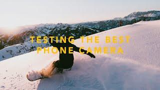I TESTED A PHONE CAMERA WITH PROFESSIONAL SNOWBOARDERS! 108MP Penta Camera (Mi Note 10 )