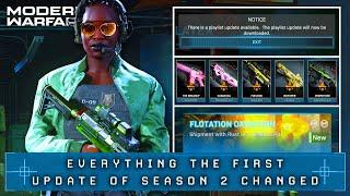 Modern Warfare: EVERY KEY Change in Season 2's First Update (MW Update)