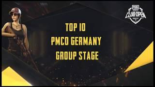 [TOP 10] PMCO Germany Group Stage | Spring Split | PUBG MOBILE CLUB OPEN 2020