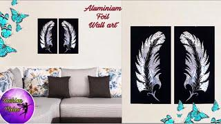 Aluminium foil craft | diy projects | home decorating ideas | room decor crafts | Fashion Pixies