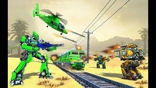 Futuristic Euro Train Transformation Robot War | Amazing Euro Train Transformation Android GamePlay