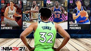 RANKING THE TOP 10 CENTERS IN NBA 2K21 MyTEAM!