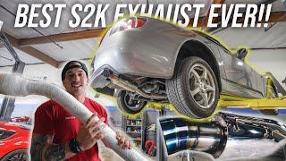 THE BEST S2000 EXHAUST EVER! - J'S RACING 70RR EXHAUST INSTALL