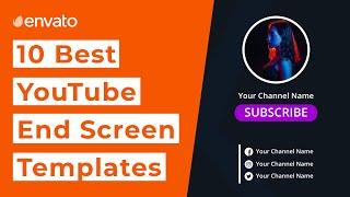 10 Best YouTube End Screen Templates [2021]