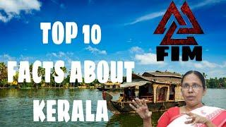 Top 10 facts about Kerala | FACTS IN MALAYALAM