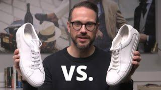 Koio vs. Common Projects: Which Is Better? | Best White Leather Sneakers Menswear Review