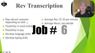 Top 10 Work From Home Jobs - Make Money Online +$60k Per Year