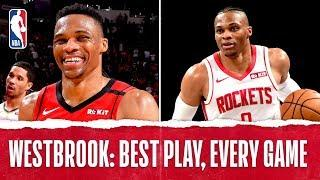 Russell Westbrook's Best Plays From Every Game!