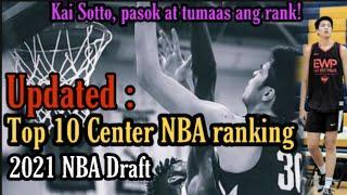LATEST: Top 10 Center NBA Draft 2021 Ranking! KAI SOTTO nakapasok sa LATEST NBA MOCK DRAFT!