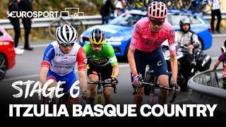 Itzulia Basque Country 2021 - Stage 6 Highlights | Cycling | Eurosport