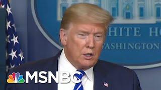 Vanity Fair Looks At Trump's Plan To Battle Virus With Unproven Drug | Morning Joe | MSNBC