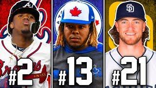 RANKING TOP 25 MLB PLAYERS UNDER 25