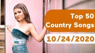 US Top 50 Country Songs (October 24, 2020)