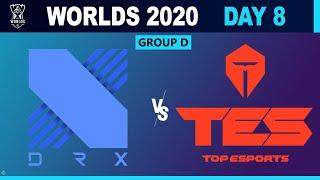 DRX vs Top Esports - Worlds 2020 Group Stage - DRX vs TES