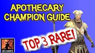 RAID: Shadow Legends | Apothecary Champion Guide - Top 3 rares in the game! Right through to endgame