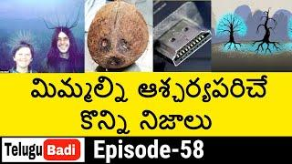 Top 15 Interesting Facts in Telugu | Unknown and Amazing Facts Episode 58 | Telugu Badi Facts