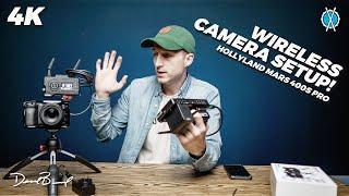 Amazing Wireless Camera Setup // Mars 400s Pro Wireless Transmitter System Review