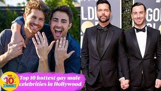 Top 10 hottest gay male celebrities in Hollywood