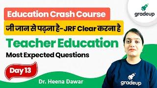 Models of Teacher Education   Education   UGC NET 2021 Exam   Gradeup   Dr. Heena Dawar