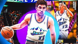 PINK DIAMOND JOHN STOCKTON GAMEPLAY! A TOP TIER POINT GUARD IN NBA 2k21 MyTEAM