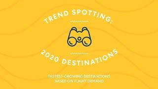 Top 10 Trending Destinations to Travel in 2020