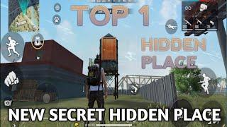 TOP 1 HIDDEN PLACE TOP SECRET HIDDEN PLACE IN FREE FIRE  TIPS AND TRICKS