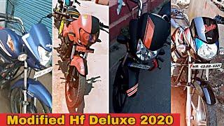 Top 10 Hf Deluxe Modified Bike 2020| Part 2| FH modified