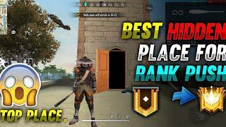 TOP NEW HIDDEN PLACE IN FREE FIRE IN BERMUDA 2021 | RANK PUSH TIPS AND TRICKS IN FREE FIRE 2021