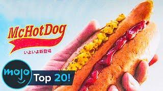 Top 20 McDonald's Menu Item FAILS
