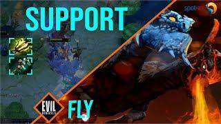 Fly can SUPPORT the Whole TEAM | Jakiro is BEST SUPPORT HERO in THIS PATCH 7.24