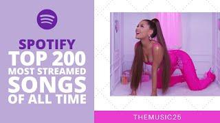 Spotify Top 200 Most Streamed Songs Of All Time [March 2020]