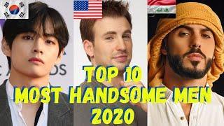 Top 10 Most Handsome Men in the World 2020 I Handsome Man