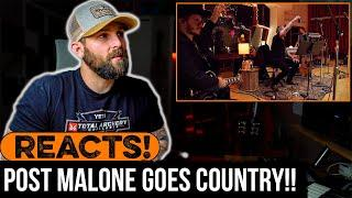 MUSICIAN REACTS to Post Malone Goes COUNTRY