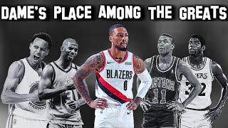 Damian Lillard's Place In History (Is He A Top 10 Point Guard In NBA History???)
