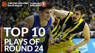 Turkish Airlines EuroLeague Regular Season Round 24 Top 10 Plays