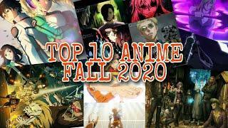 TOP 10 FALL ANIME   FALL 2020   Za Hand