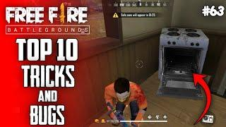 Top 10 New Tricks In Free Fire | New Bug/Glitches In Garena Free Fire #63