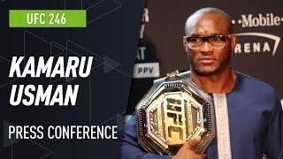 'Who in the Top 10 has this guy beat?' Kamaru Usman questions Jorge Masvidal's title credentials