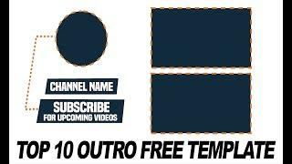 Top 10 Best End Screen Outro Template in 2019 | Free After Effects Templates #6