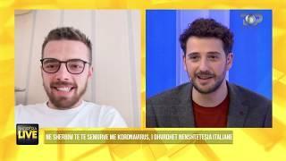 Shqiptari që jeton me gruan me koronavirus, tregon çfarë po ndodh-Shqipëria Live, 3 Mars 2020