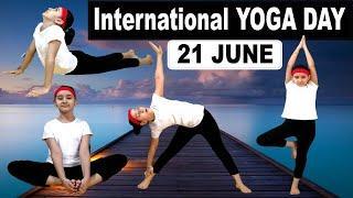10 Best Yoga Poses for Kids || International YOGA DAY || 21 June ||