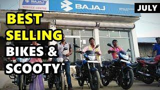Top 10 Highest selling 2-wheelers July 2020 | ASY