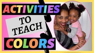 ACTIVITIES to teach COLORS I Simple house activities that help your child sort and learn colors