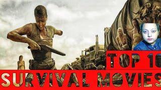 Top 10 Survival Movies in World Top 10 Best Survival Movies Iman's Acting Ka Keeda