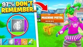 10 Things ONLY Fortnite Chapter 1 PLAYERS REMEMBER!