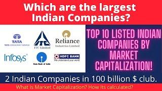 Which is the Largest Indian Company? Reliance, TCS? Top 10 Indian Companies by Market Capitalization