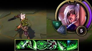 HOW TO USE RIVEN COMBO'S EFFICIENTLY IN TOP! - S10 RIVEN GAMEPLAY! - League of Legends