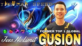 Gusion Insane Fast Hand Combo! [ Former Top 1 Global Gusion ] Gusion Gameplay by JessNoLimit ~ MLBB