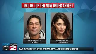 Sheriff's captures 2 of Top 10 Most Wanted